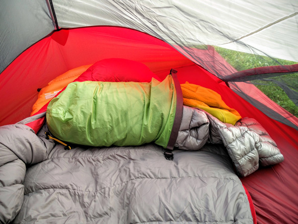 Ways to Make a Wild Camp Comfy | Blog | Lifesystems