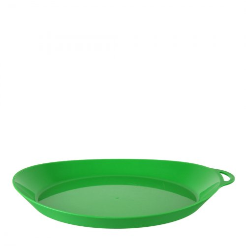 Ellipse Plastic Camping Plates (Green)