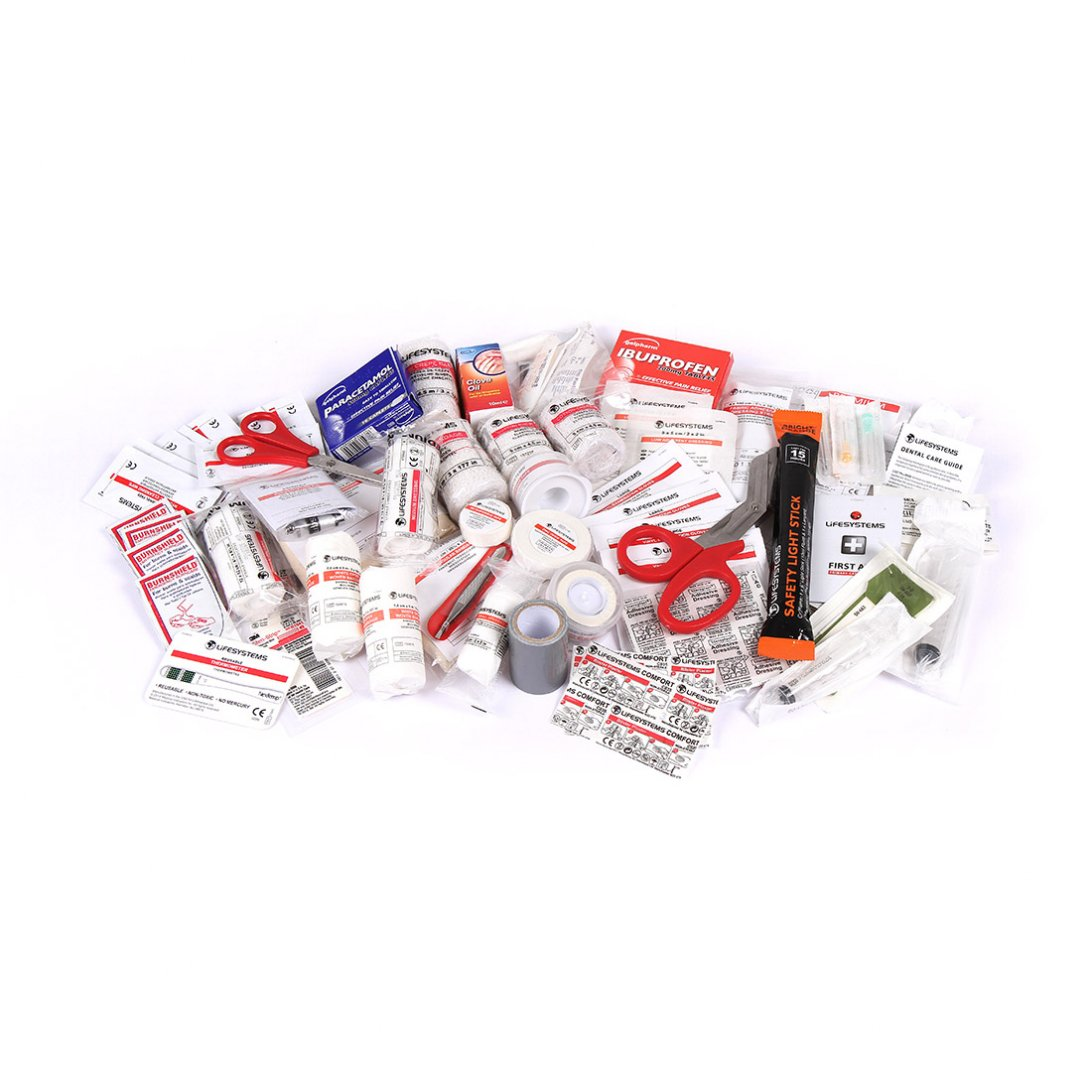 Mountain Leader Pro First Aid Kit UK Content