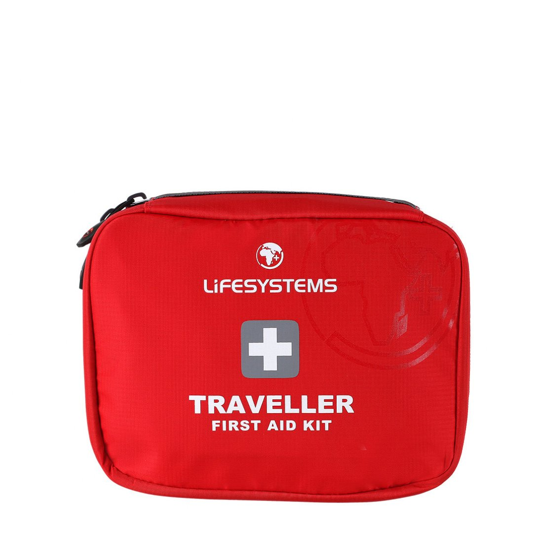 Red traveller first aid kit