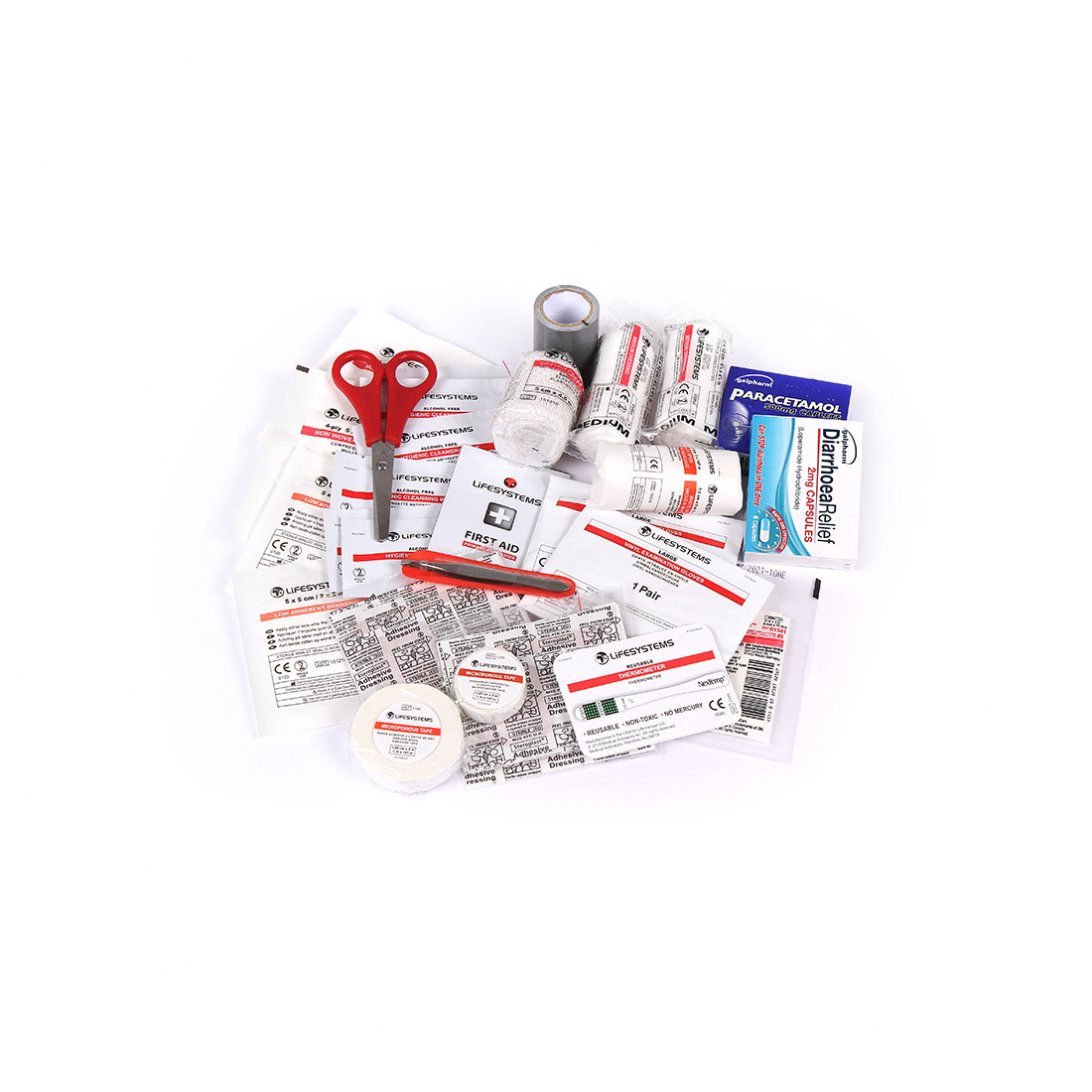 Traveller First Aid Kit UK Content
