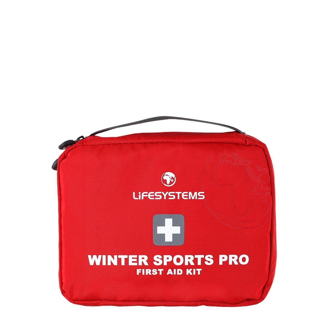 Red sports first aid kit