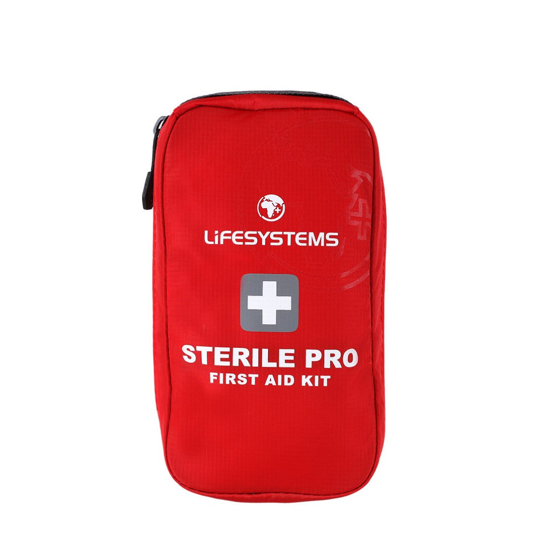Red sterile pro first aid kit