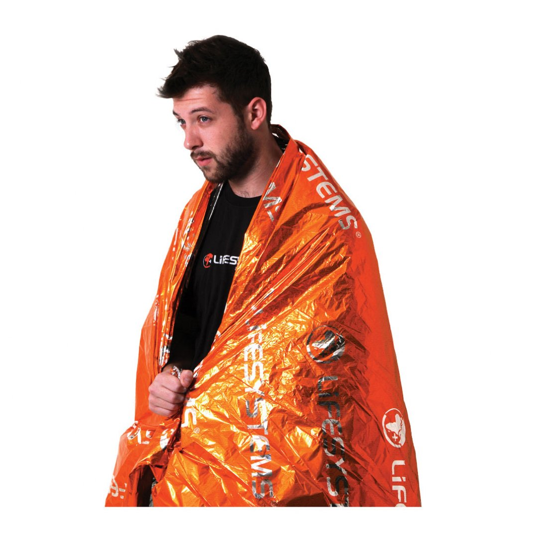 Orange thermal blanket