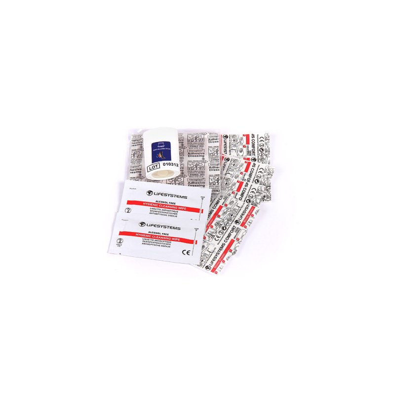 Blister First Aid Kit Contents