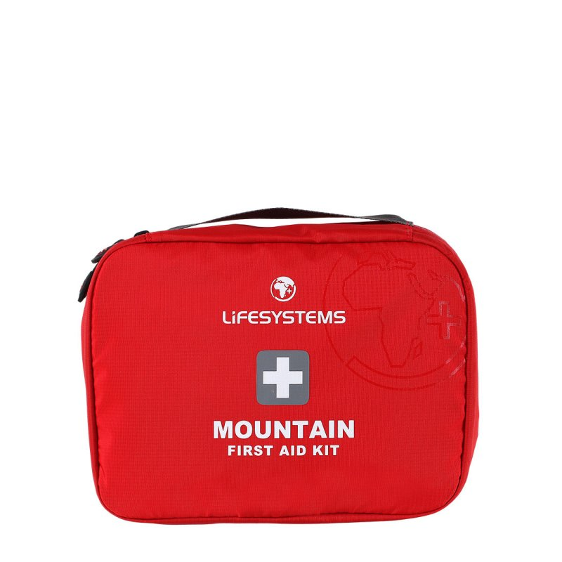 Red mountain first aid kit