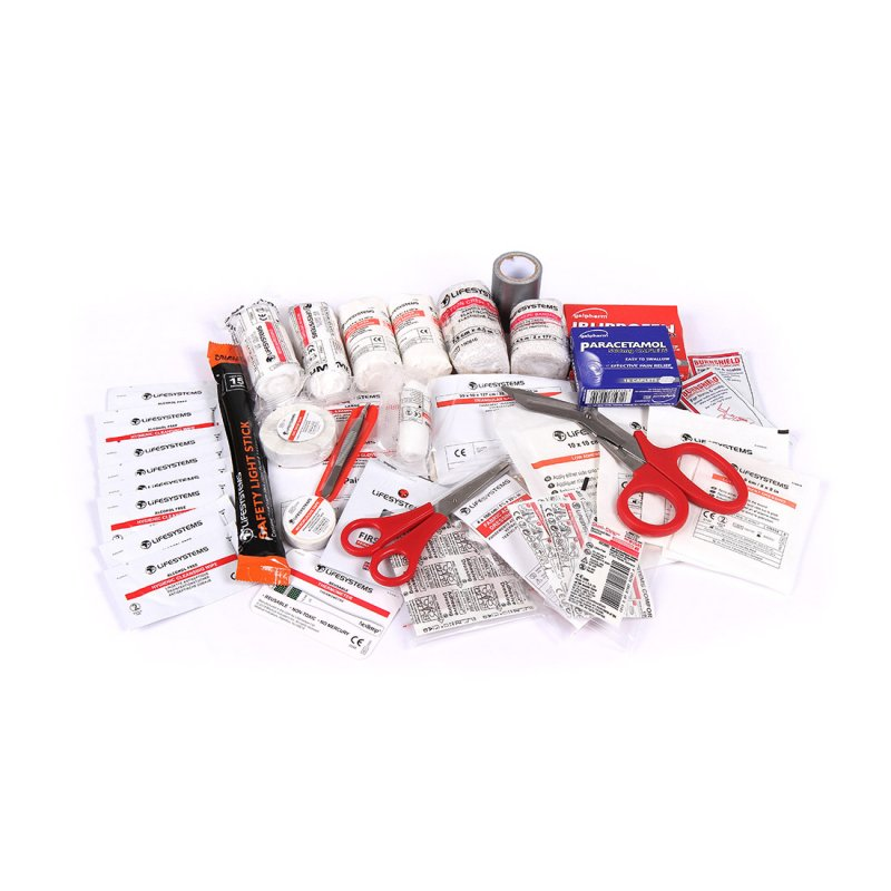 Mountain First Aid Kit UK Content