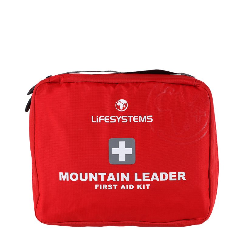 Red mountain leader first aid kit