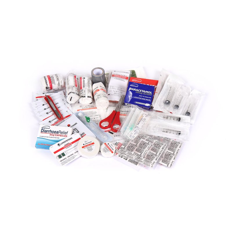 Solo Traveller First Aid Kit UK Content