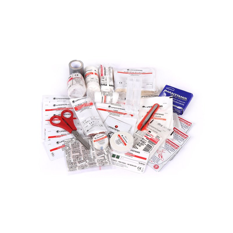 Camping First Aid Kit UK Content