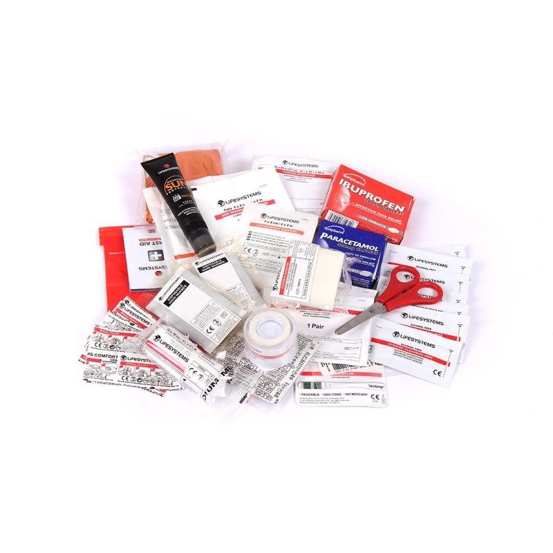 Winter Sports First Aid Kit UK Content