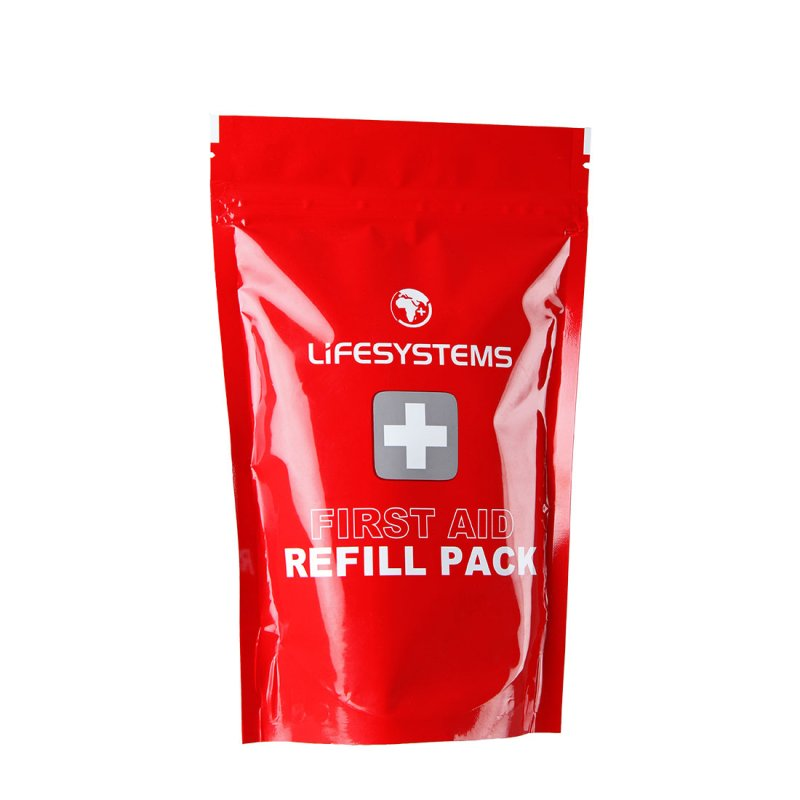 Red bandage refill pack