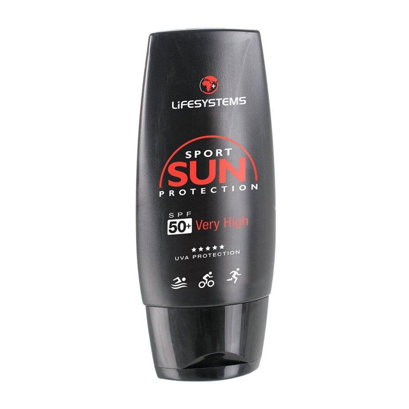 Sports sun cream factor 50