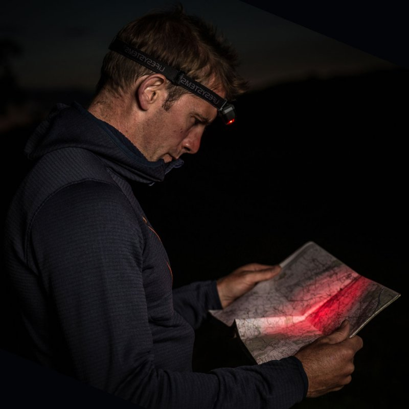 Intensity 155 LED head torch lifestyle