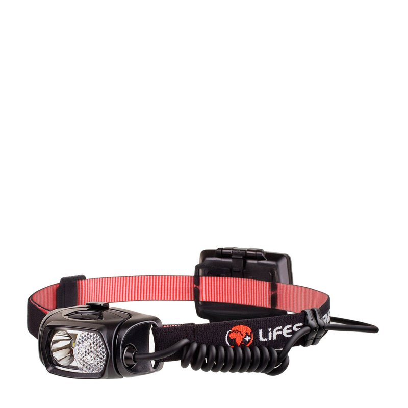 Head torch with adjustable head strap