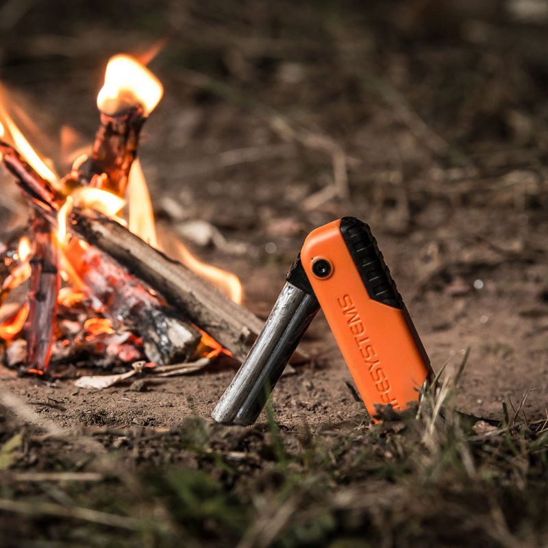 Dual Action fire starter lifestyle