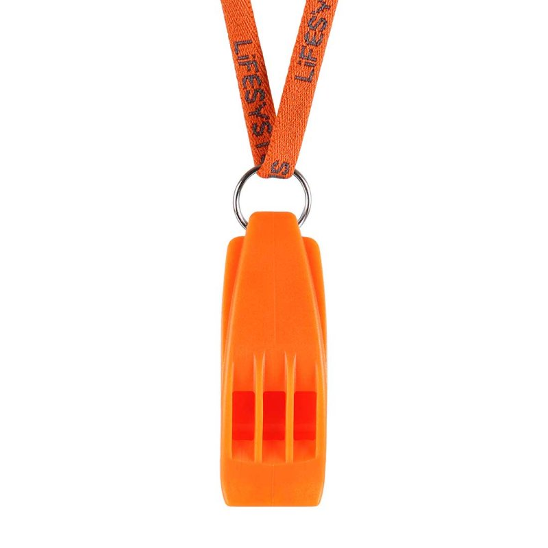 Hurricane whistle lanyard