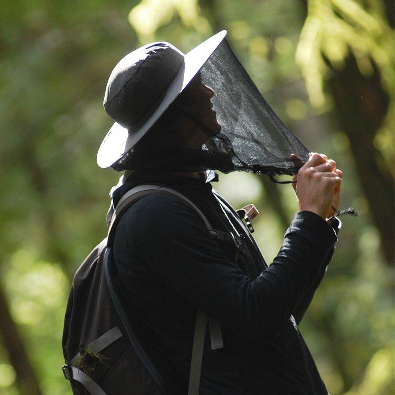 Pop-up Mosquito and Midge Head Net Hat