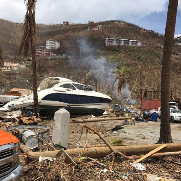 Hurricane Irma and Maria Aftermath