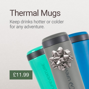 Thermal Mug Christmas Gift Idea Banner